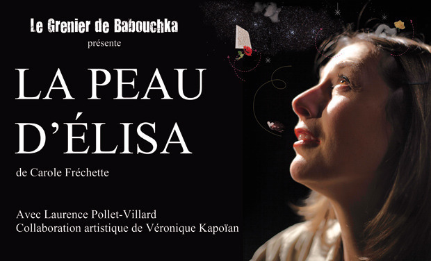Visuel du projet La peau d'Elisa en Avignon par la Cie du Grenier de Babouchka