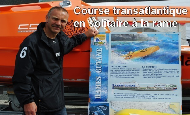 Visueel van project Course transatlantique en solitaire à la rame