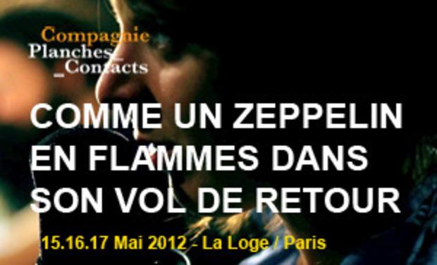 Project visual COMME UN ZEPPELIN EN FLAMMES DANS SON VOL DE RETOUR