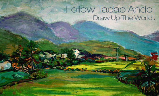 Visueel van project Follow Tadao Ando