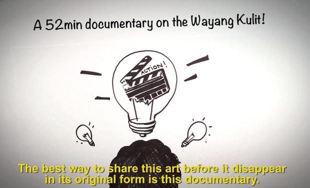 Visuel du projet Un art indonésien en voie d'extinction: le Wayang Kulit
