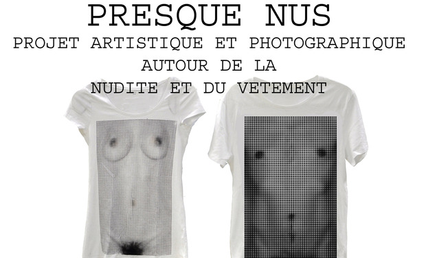 Project visual Tee shirts qui déshabillent