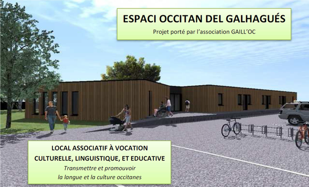 Visuel du projet Espaci Occitan del Galhagués