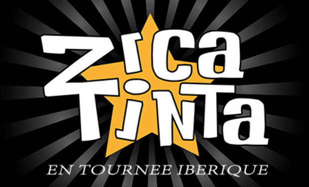 Visuel du projet Zicatinta (fiesta-rock) en  tournée ibérique.