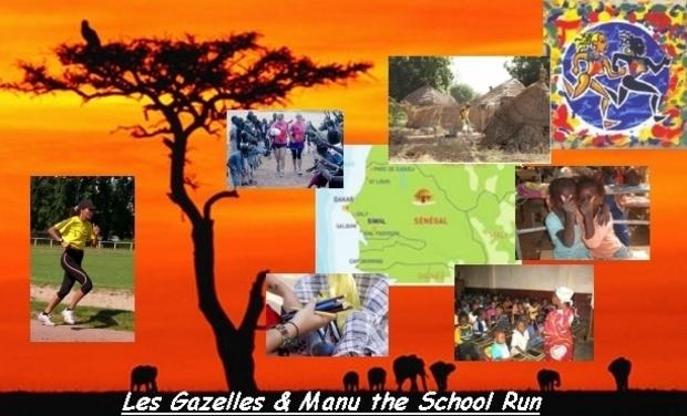Visuel du projet La scolarité des enfants du SENEGAL avec Les Gazelles&Manu The School Run - LA SENEGAZELLE