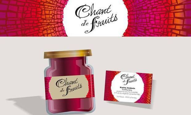 "Visueel van project confiture bio ""Chant de fruits"""