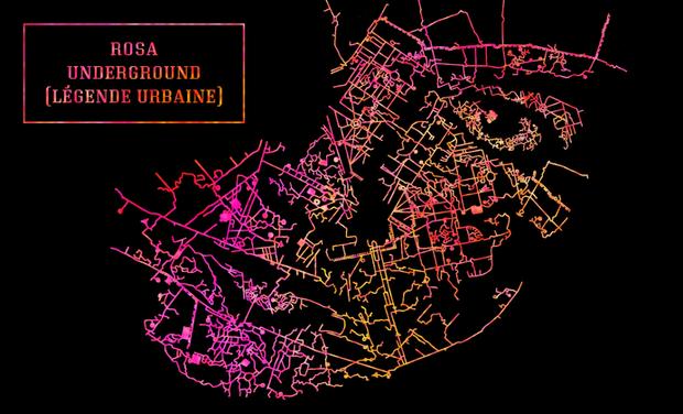Visuel du projet Rosa Underground (Légende Urbaine)