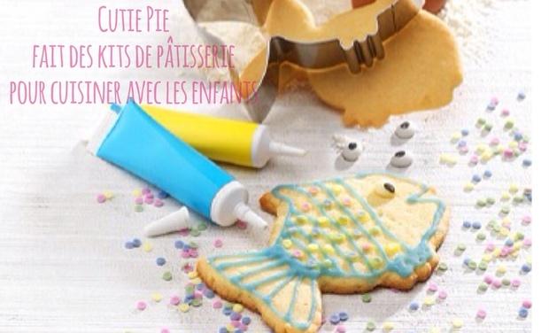 Visuel du projet Cutie Pie - des kits de patisserie pour cuisiner avec les enfants