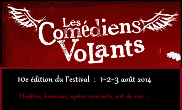 Visuel du projet Festival des Comédiens Volants