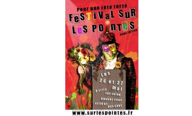 Visuel du projet Festival Sur Les Pointes 2012