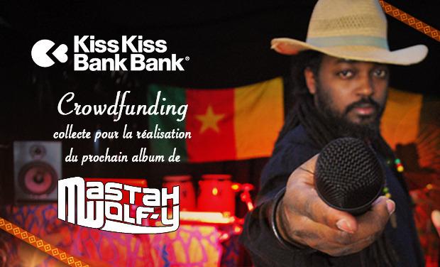 Visuel du projet MASTAH WOLF-Y enregistre son EP / soutenez le Jazzy Rootz Rap !