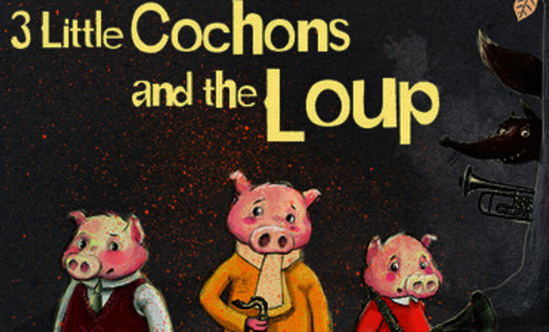 Project visual 3 little cochons... and the loup
