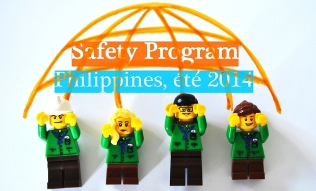 Visueel van project Safety Program, Philippines, été 2014