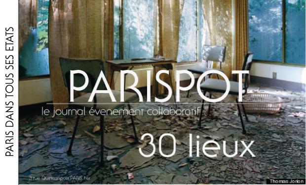 """Visuel du projet PARISPOT présente """"Paris dans tous ses états """""""