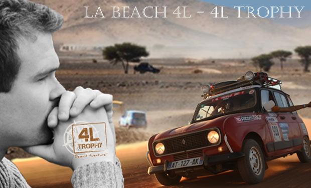 Visuel du projet La Beach 4L - 4L Trophy