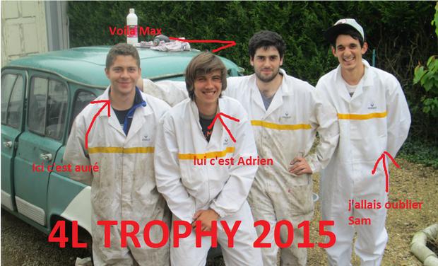 Visuel du projet raid humanitaire 4L trophy
