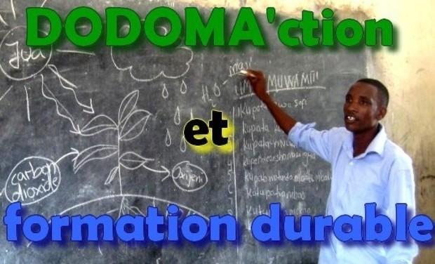 Visuel du projet DODOMA'ction et formation durable