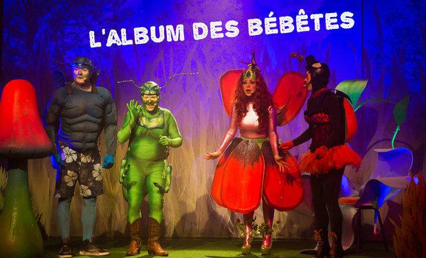 """Visuel du projet L'album des """" bébêtes """""""