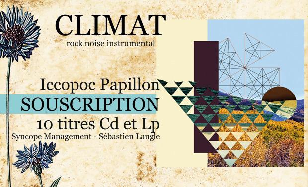 """Project visual Album """"Iccopoc Papillon"""" - climat"""