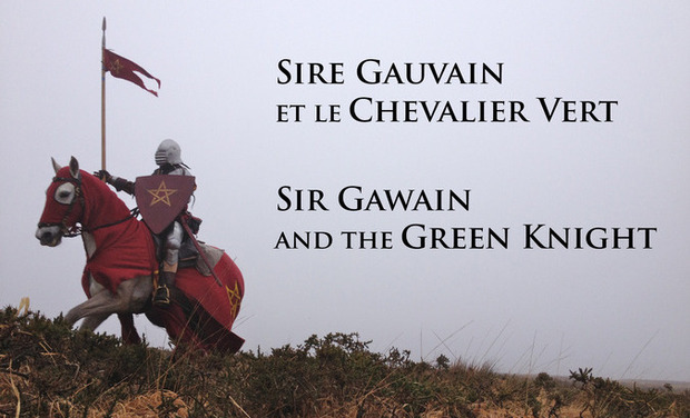 Visuel du projet Sire Gauvain et le Chevalier Vert / Sir Gawain and the Green Knight