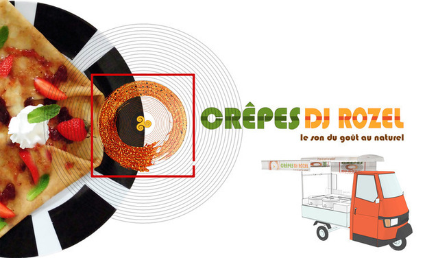 Visueel van project Crepes DJ Rozel