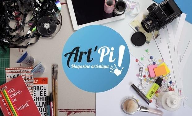 Visuel du projet Art'Pi ! le magazine artistique de la culture Sourde