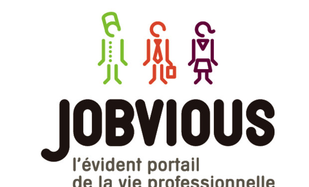 Project visual www.jobvious.fr, LE site de rencontres...professionnelles