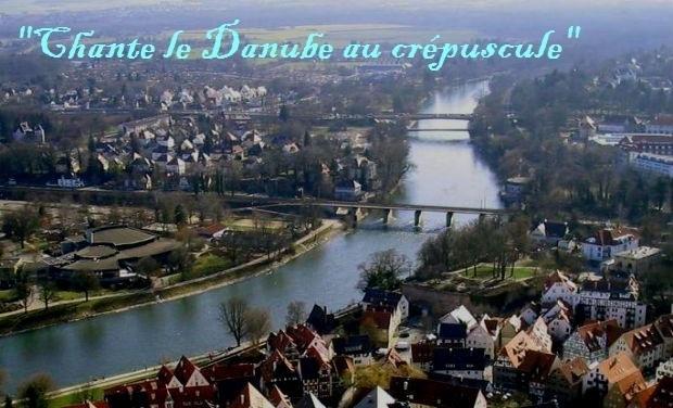 """Visuel du projet """"Chante le Danube  ou  crépuscule"""" !"""