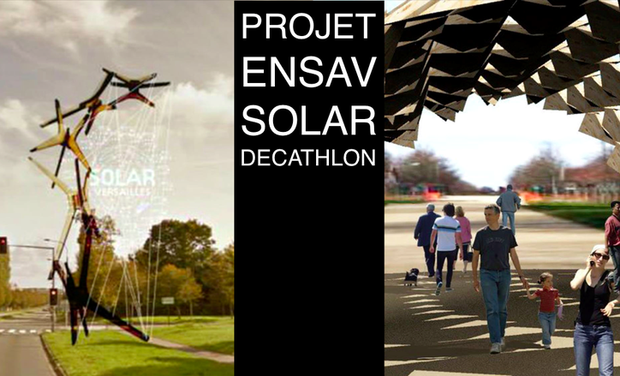 Project visual Projet ENSAV Solar Decathlon