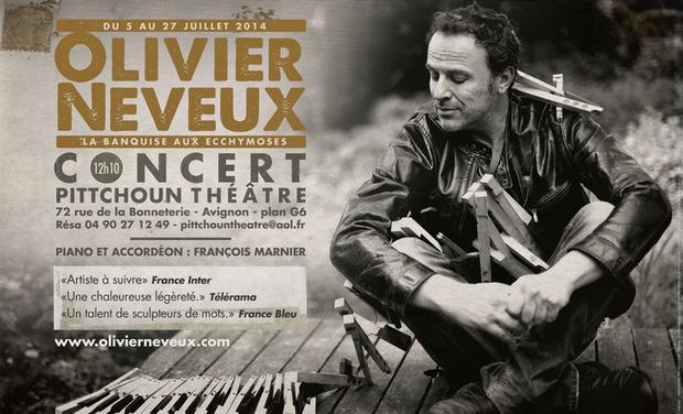 Visuel du projet OLIVIER NEVEUX AU FESTIVAL D'AVIGNON !