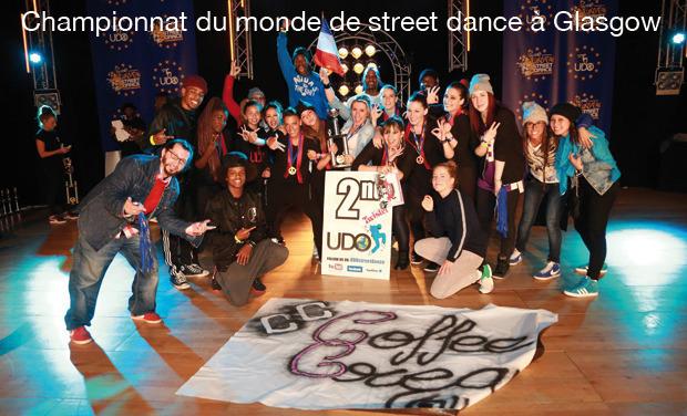 Visuel du projet Championnat du monde de street dance à Glasgow.