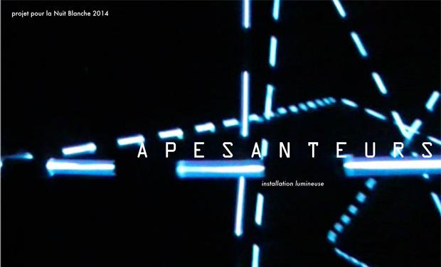 Visuel du projet APESANTEURS