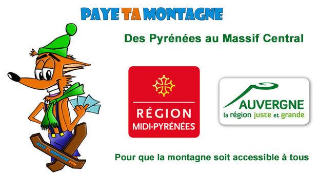 Visuel du projet Challenge « PayeTaMontagne » : Des Pyrénées au Massif Central à vélo