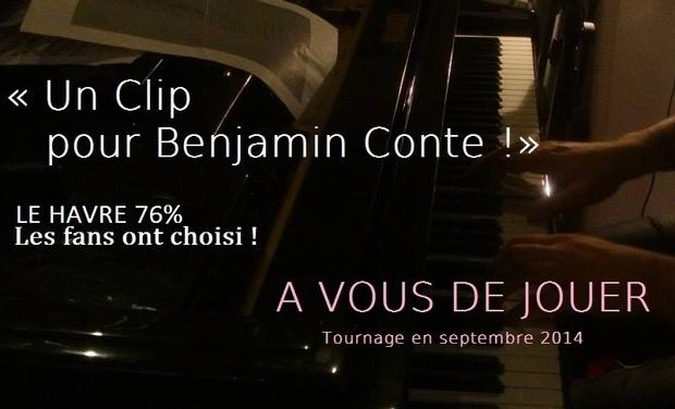 Project visual Un Clip pour Benjamin Conte !