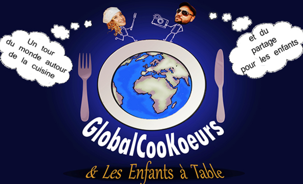 Project visual GlobalCooKoeurs & Les enfants à table
