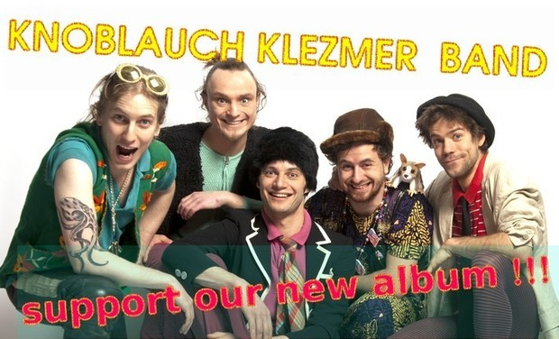 Visuel du projet Knoblauch Klezmer Band - our first full album