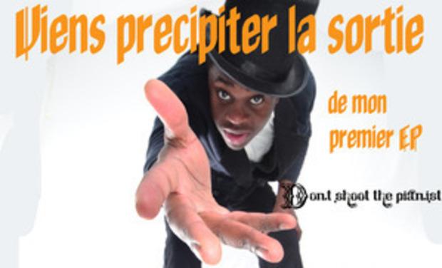 """Visuel du projet Ti-mano Premier EP !!!!!  """"Don't shoot the pianist"""" PARTICIPEZ !"""