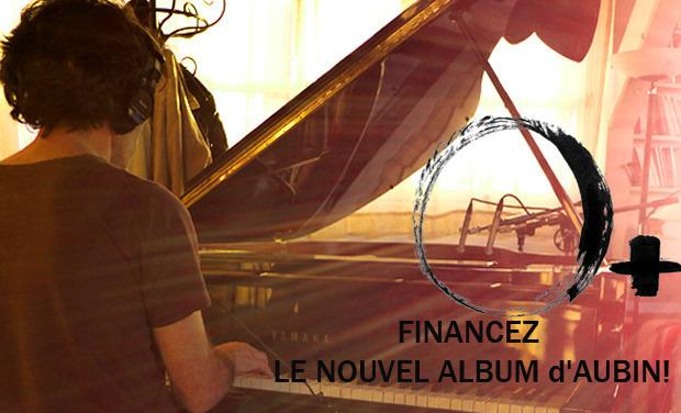 Visuel du projet aubin - nouvel album : O+