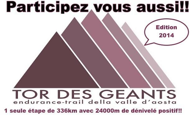 Visuel du projet Le plus long trail au monde: Le Tor des Géants 2014
