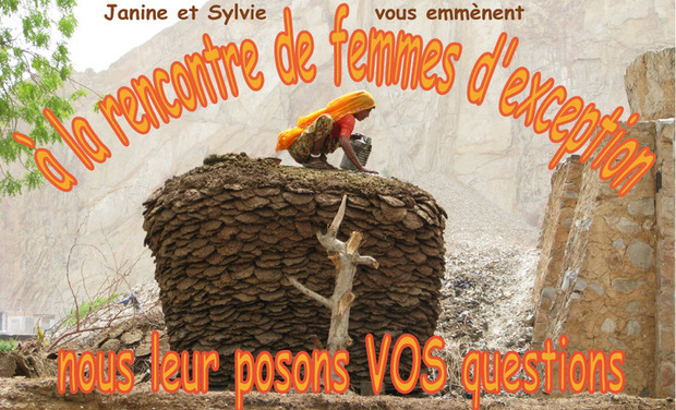 Visueel van project à la rencontre de femmes d'exception