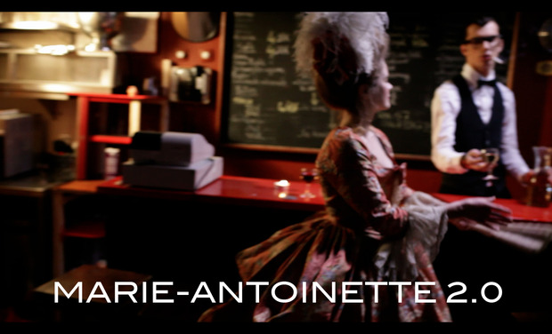 Project visual Marie-Antoinette 2.0