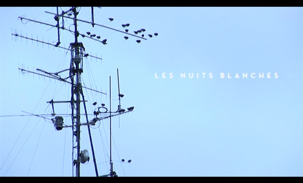 Project visual LES NUITS BLANCHES