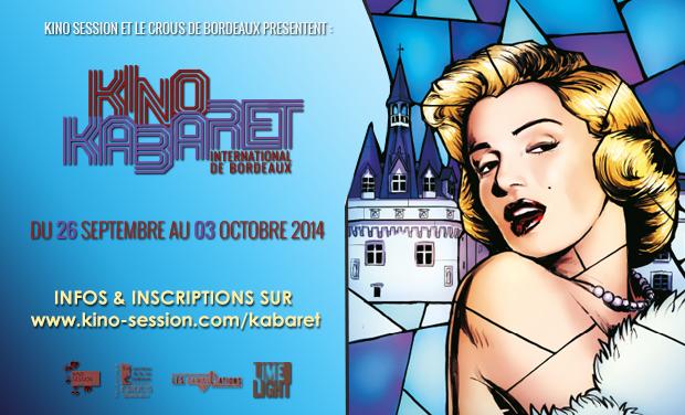 Visuel du projet Kino Kabaret International de Bordeaux 2014