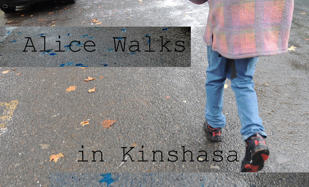Project visual Alice Walks, in Kinshasa