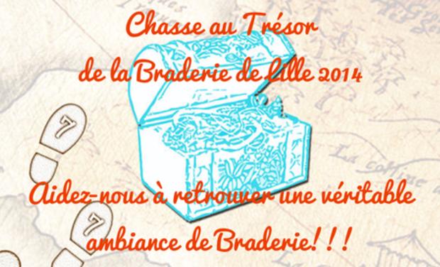 Visuel du projet Chasse au trésor à la Braderie de Lille