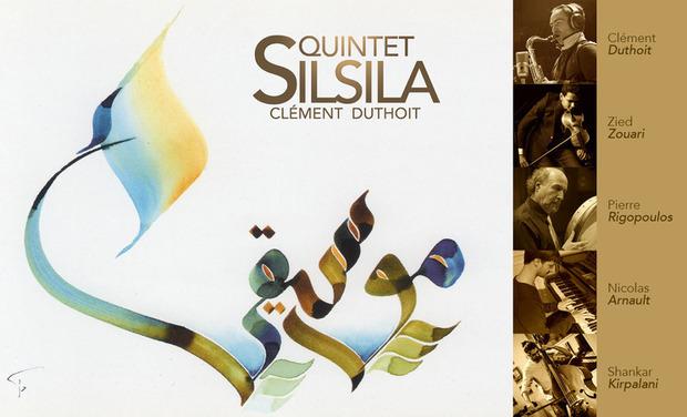 Visuel du projet Quintet Silsila – Premier disque