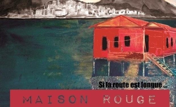 """Visuel du projet Maison Rouge Deuxième album """"Si la route est longue..."""""""