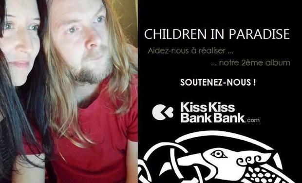 """Visuel du projet """" Morrigan """" : Aidez le groupe CHILDREN IN PARADISE à réaliser son 2ème album"""