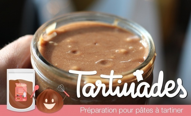 Project visual Tartinades : pâtes à tartiner saines & gourmandes à faire soi-même #DIY