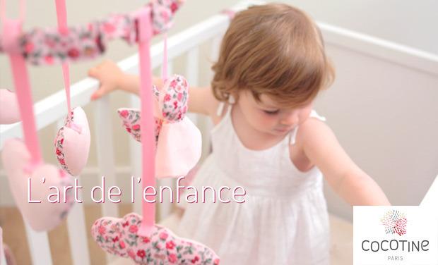 Visuel du projet Déco et accessoires pour bébé avec Cocotine